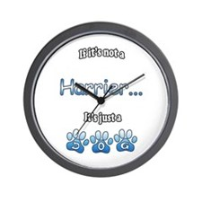Harrier Not Wall Clock