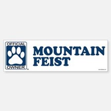 MOUNTAIN FEIST Bumper Bumper Bumper Sticker