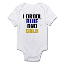 BLUE AND GOLD Infant Bodysuit