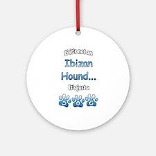 Ibizan Hound Not Ornament (Round)
