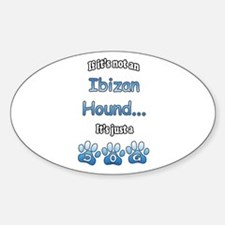 Ibizan Hound Not Oval Decal