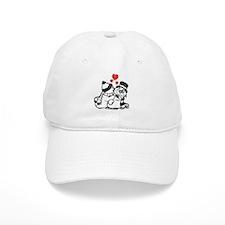 Warm Winter Love - Baseball Cap