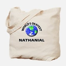 World's Okayest Nathanial Tote Bag