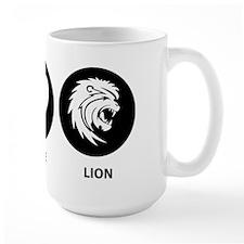 Peace Love Lion Mug