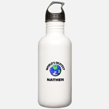 World's Okayest Nathen Water Bottle