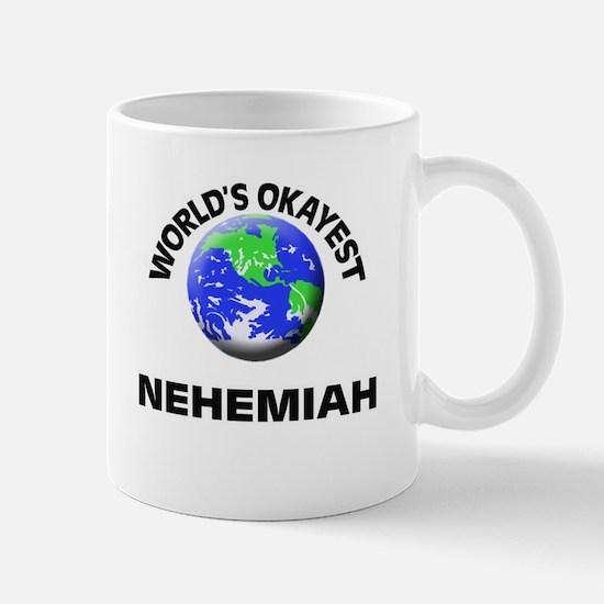 World's Okayest Nehemiah Mugs