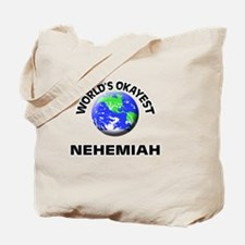 World's Okayest Nehemiah Tote Bag