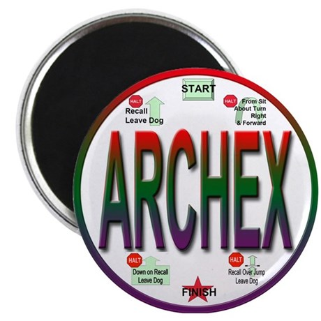 """ARCHEX 2.25"""" Magnet (100 pack)"""