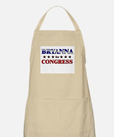 BRYANNA for congress BBQ Apron