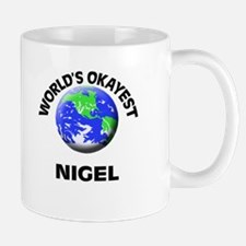 World's Okayest Nigel Mugs