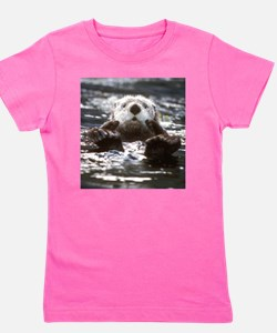 Funny Sea otters Girl's Tee
