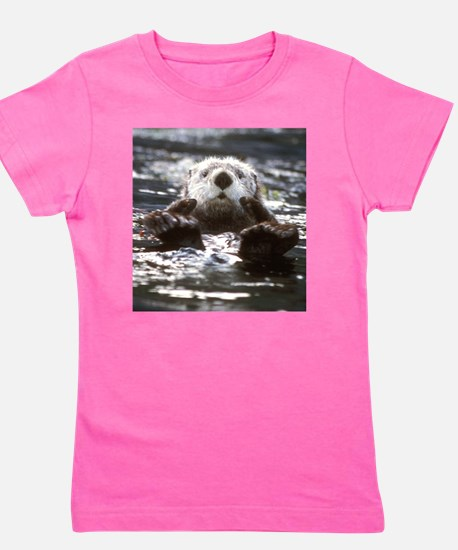 Funny Otters Girl's Tee