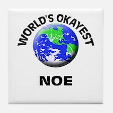 World's Okayest Noe Tile Coaster