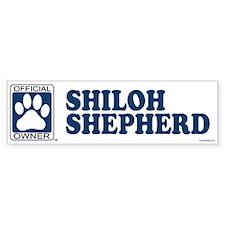 SHILOH SHEPHERD Bumper Bumper Sticker