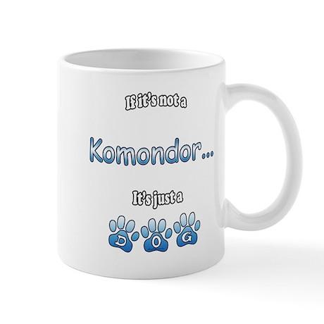 Komondor Not Mug