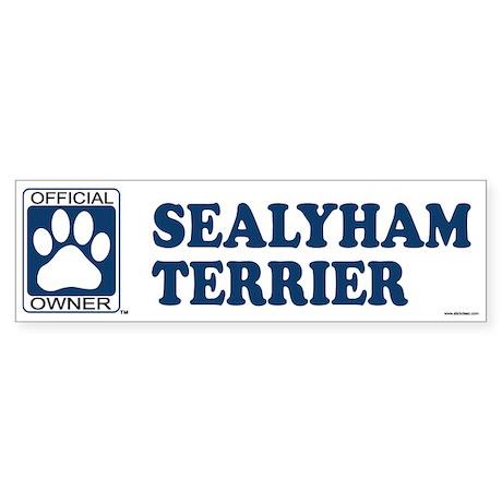 SEALYHAM TERRIER Bumper Sticker