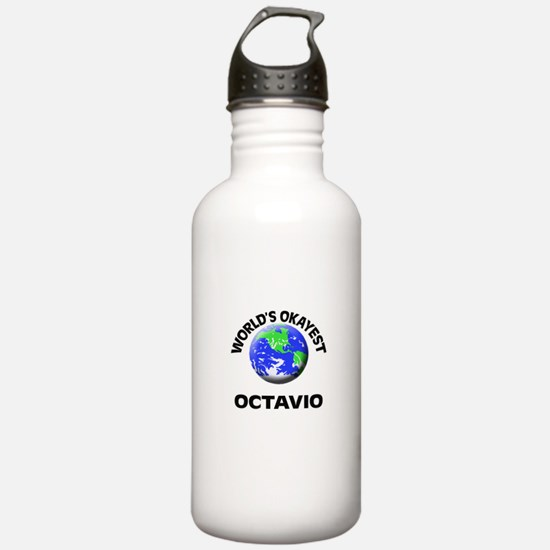 World's Okayest Octavi Sports Water Bottle