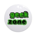 Geek Zone Keepsake (Round)