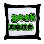Geek Zone Throw Pillow