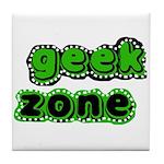 Geek Zone Tile Coaster