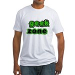 Geek Zone Fitted T-Shirt