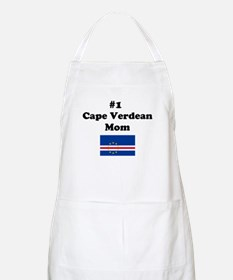 #1 Cape Verdean Mom BBQ Apron