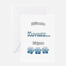 Kuvasz Not Greeting Card
