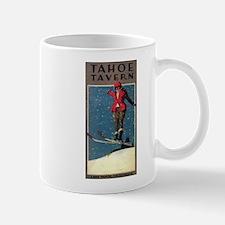 Lake Tahoe, CA - Tahoe Tavern - Vintage Poster Mug