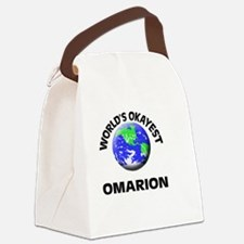 World's Okayest Omarion Canvas Lunch Bag