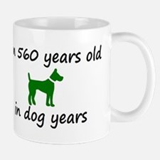 80 Dog Years Green Dog 2 Mugs