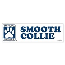 SMOOTH COLLIE Bumper Bumper Sticker