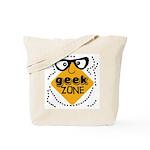 Geek Zone Warning Tote Bag