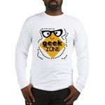 Geek Zone Warning Long Sleeve T-Shirt