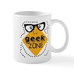 Geek Zone Warning Mug