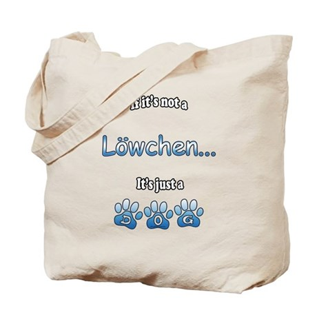 Lowchen Not Tote Bag