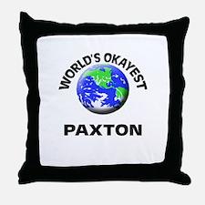 World's Okayest Paxton Throw Pillow