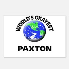 World's Okayest Paxton Postcards (Package of 8)