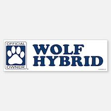 WOLF HYBRID Bumper Bumper Bumper Sticker