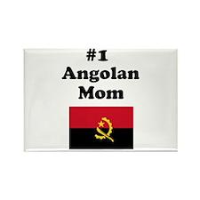 #1 Angolan Mom Rectangle Magnet