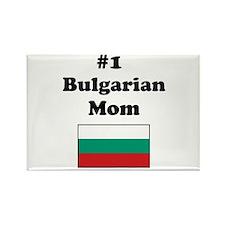 #1 Bulgarian Mom Rectangle Magnet