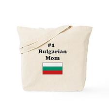 #1 Bulgarian Mom Tote Bag