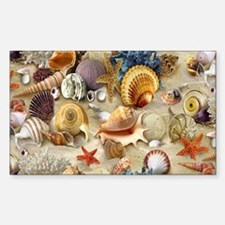 Seashells And Starfish Decal