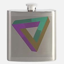 Unique Optical illusion Flask