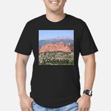 Fitted White T-Shirt Colorado Wild & Wonderful