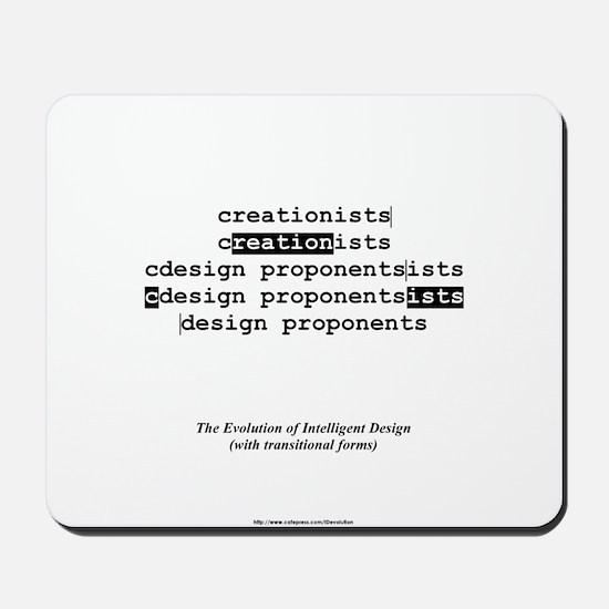 Evolution of Intelligent Design Mousepad