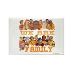 Jewish We Are Family Rectangle Magnet