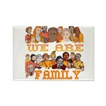 Jewish We Are Family Rectangle Magnet (10 pack)