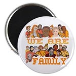 Jewish We Are Family Magnet