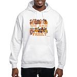 Jewish We Are Family Hooded Sweatshirt