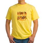 Jewish We Are Family Yellow T-Shirt